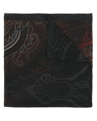 Etro | Black Ombre Print Scarf for Men | Lyst