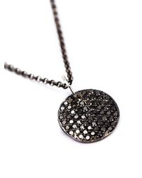 Rosa Maria   Metallic 'mars' Diamond Necklace   Lyst