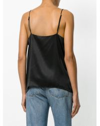 Anine Bing - Black Slip Top - Lyst