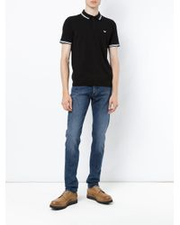Emporio Armani - Black 3z1my61mppz 0999 Natural (vegetable)->cotton for Men - Lyst
