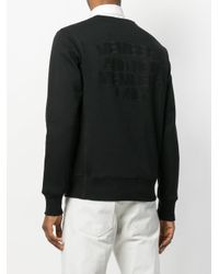 Stella McCartney - Black Members And Non Members Only Jumper for Men - Lyst