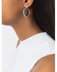 Pamela Love - Metallic Mojave Large Savannah Jasper Earrings - Lyst