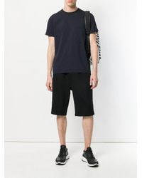 McQ Alexander McQueen - Black Side Zipped Track Shorts for Men - Lyst
