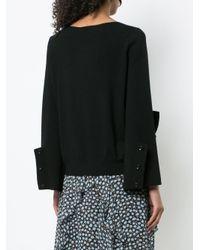 Dorothee Schumacher - Black Ruffle Detail Sweater - Lyst