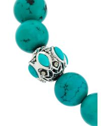 Monan - Blue Beaded Bracelet - Lyst
