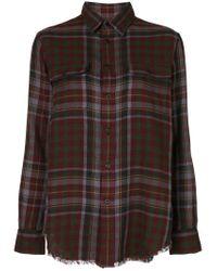 Polo Ralph Lauren - Red Check Flannel Shirt - Lyst