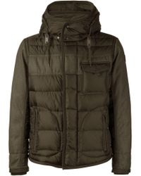 Moncler - Green 'ryan' Padded Jacket for Men - Lyst