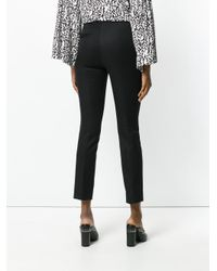 Dorothee Schumacher - Black Tailored Cropped Trousers - Lyst