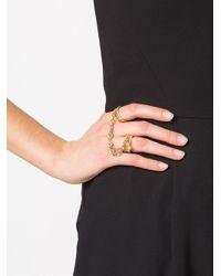 Loree Rodkin - Metallic Handcuff Ring - Lyst