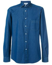 Fashion Clinic Timeless - Blue Denim Shirt for Men - Lyst
