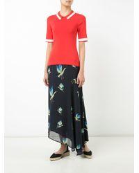 Jason Wu - Blue Birds Print Skirt - Lyst