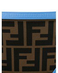 Fendi - Blue Monogram Bikini Set - Lyst