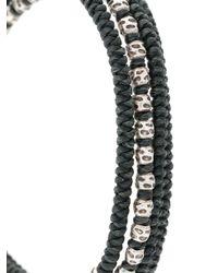 M. Cohen - Green Beaded Bracelet - Lyst
