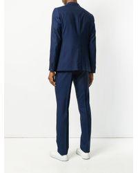 Z Zegna Blue Two Piece Suit for men