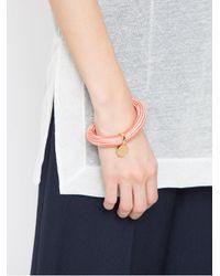 Osklen - Pink Pendant Bracelet - Lyst