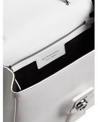 Burberry - White Medium Dk88 Top Handle Bag - Lyst