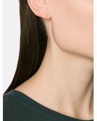 Melissa Joy Manning - Metallic Horseshoe Chain Earrings - Lyst