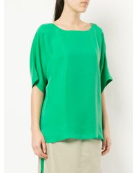 Tibi - Green Easy T-shirt - Lyst