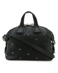 Givenchy - Black Medium Antigone Studded Tote Bag - Lyst
