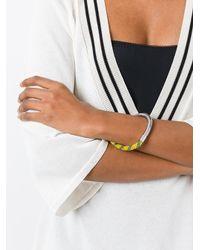 Marni - Metallic Bungee Cord Bracelet - Lyst