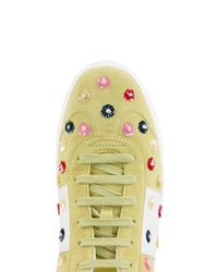 Valentino - Green Garavani Flycrew Sneakers - Lyst