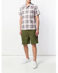White Sand - Green Double Pocket Cargo Shorts for Men - Lyst