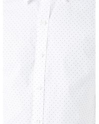Kent & Curwen - White Mini Arrow Print Poplin Shirt for Men - Lyst