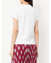 Mary Katrantzou - White Lego Embellished T-shirt - Lyst
