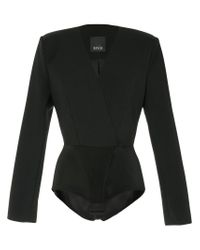 Bevza Black Body Jacket