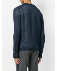 Iris Von Arnim - Blue Round Neck Jumper for Men - Lyst