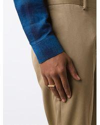 Miansai - Multicolor 'flat Top' Ring - Lyst