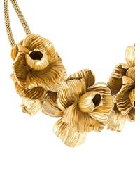 Lara Bohinc - Metallic 'roses' Necklace - Lyst