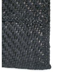 Loeffler Randall - Blue Nora Woven Leather Bag - Lyst