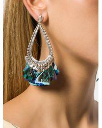 Gas Bijoux - Metallic Bibi Plume Earrings - Lyst