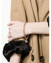 Rosa De La Cruz - Metallic Chain Link Bracelet - Lyst