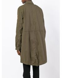 History Repeats - Green Embroidered Military Coat for Men - Lyst