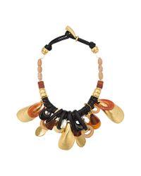 Lizzie Fortunato | Metallic Mollusk Necklace | Lyst