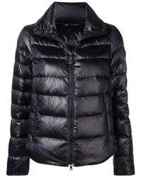 Peuterey - Black Zipped Padded Jacket - Lyst