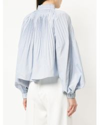 Tibi - Blue Isabelle Top - Lyst