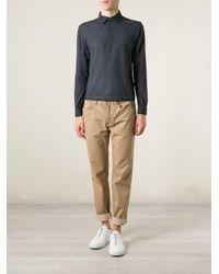 Massimo Alba - Blue 'ischia' Polo Shirt for Men - Lyst