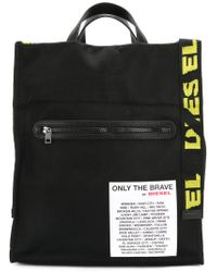 DIESEL - Black Xxmatchtote Bag - Lyst