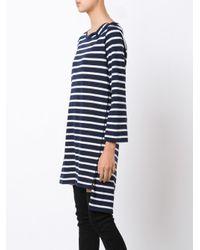 Faith Connexion - Blue Striped Sailor Dress - Lyst