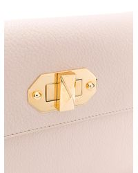 Alexander McQueen - Multicolor Twist Lock Flap Clutch - Lyst