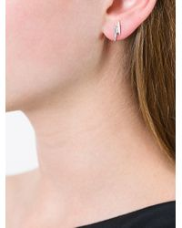 Astley Clarke - Metallic 'mini Lightning Bolt Biography' Stud Earrings - Lyst