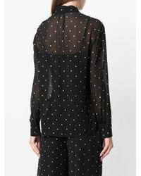 Temperley London - Black Twinkle Shirt - Lyst