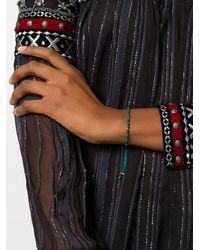 Astley Clarke - Green Beaded Skinny Bracelet - Lyst