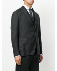 Tagliatore - Gray Blazer Monopetto for Men - Lyst
