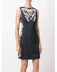 Fausto Puglisi - Black 'fantasia' Dress - Lyst