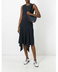Victoria Beckham - Blue Satchel Shoulder Bag - Lyst