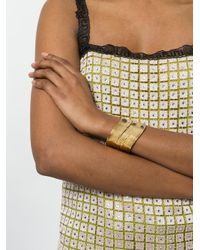 Gas Bijoux - Metallic Wave Cuff - Lyst